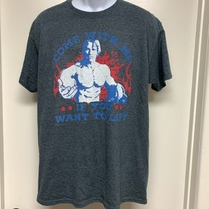 "Arnold ""Come With Me If You Want To Lift"" T-Shirt"